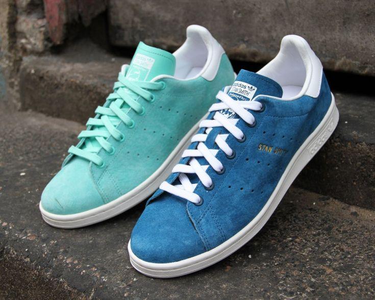 wholesale dealer 15dfc 45793 adidas stan smith blue suede