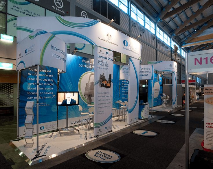 Custom exhibition stand system.