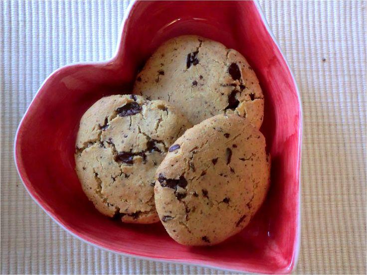 Sjokoladebitcookies