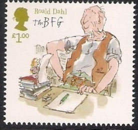 Literary Stamps: Dahl, Roald (1916-1990)