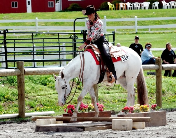 Western trail class is something I would love to compete