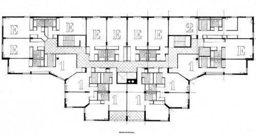 Venturi rauch scott brown guild house philadelphia for Floor plans brown university