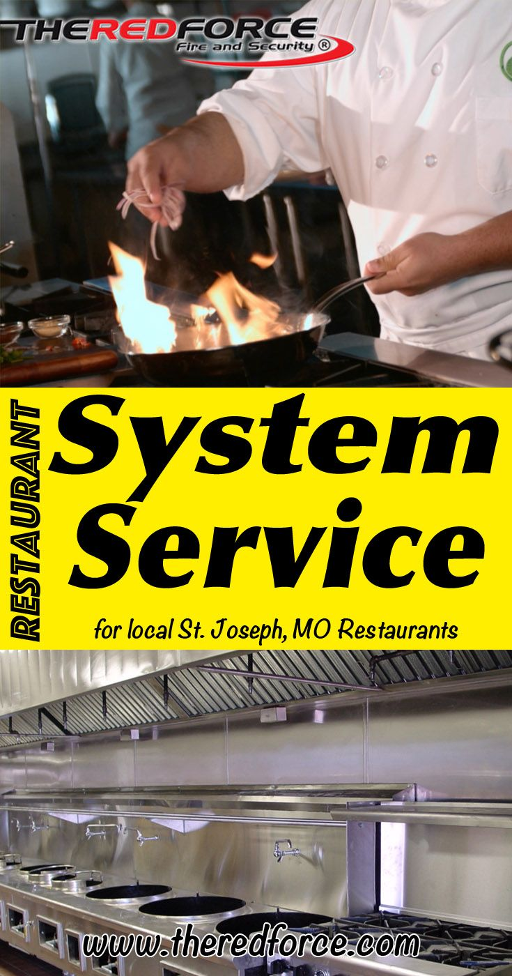 Restaurant System Service St. Joseph, MO (816) 833-8822  We're The Red Force Fire and Security.. The Main Source for Restaurant System Service for Local Missouri Businesses. Call Today!  We would love to hear from you.