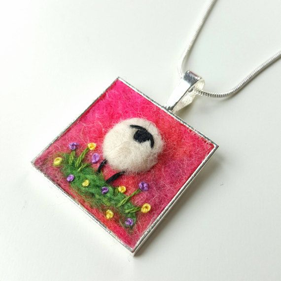 Check out this item in my Etsy shop https://www.etsy.com/uk/listing/514150819/miniature-felted-sheep-pendant-necklace