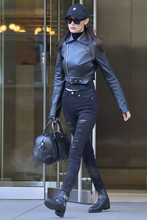 See the top model's chicest on-the-go looks here: