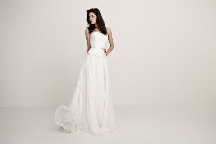 Daalarna Wedding Dress - White Collection