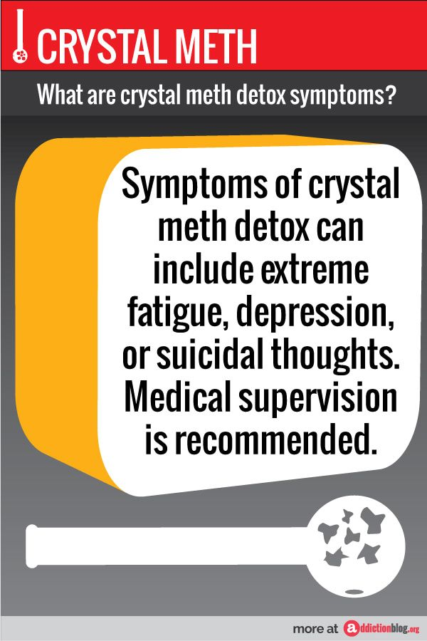 How can you treat crystal meth withdrawal symptoms? See here!  'a' is for Addiction | Addiction Blog