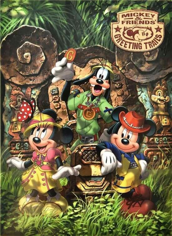 Mickey & Friends Greeting Trails