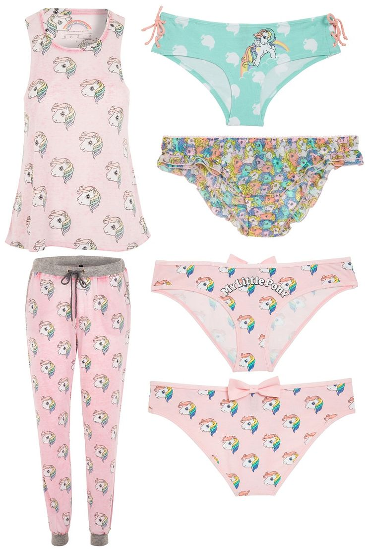 My Little Pony home wear & underwear by Undiz