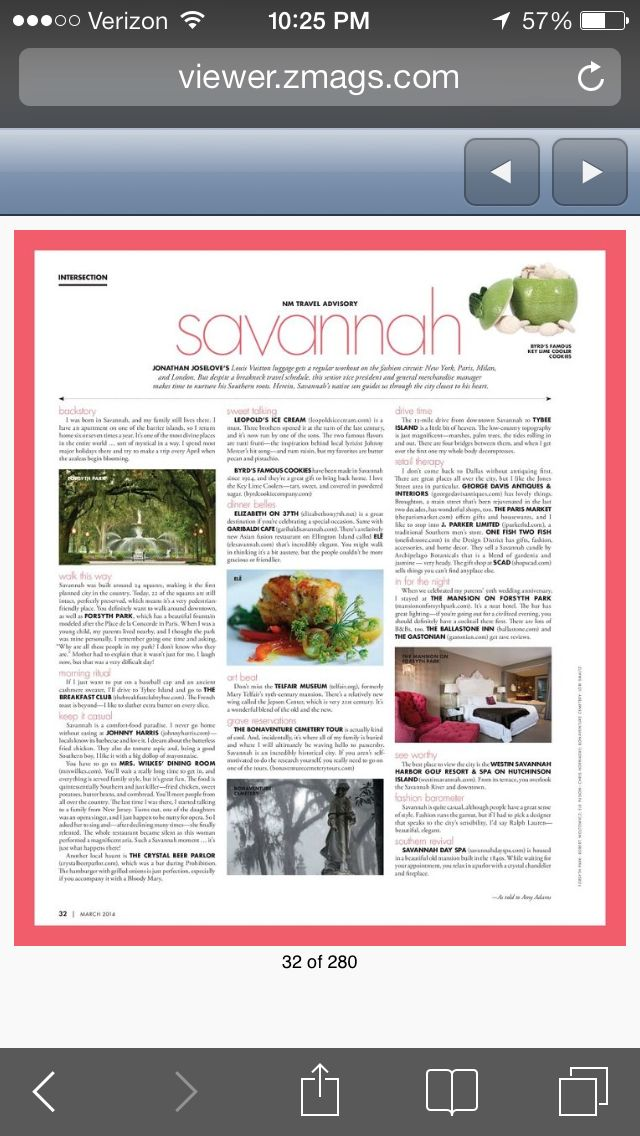 March 2014 - Neiman Marcus The Book - Savannah/Ele Fine Fusion- www.elesavannah.com