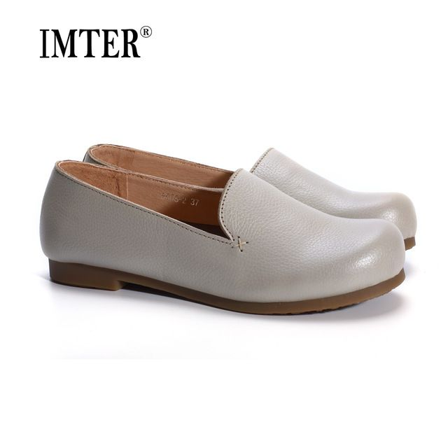 Special offer Woman Shoes Flat Genuine Leather Slip on Ballerina Flats Ladies Flat Shoes Spring/Autumn Female Footwear (1688-3) just only $35.70 with free shipping worldwide  #womenshoes Plese click on picture to see our special price for you