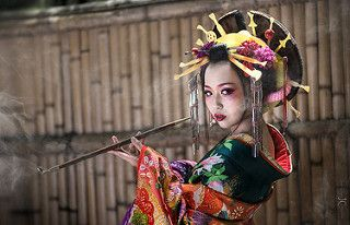 Smoking Oiran