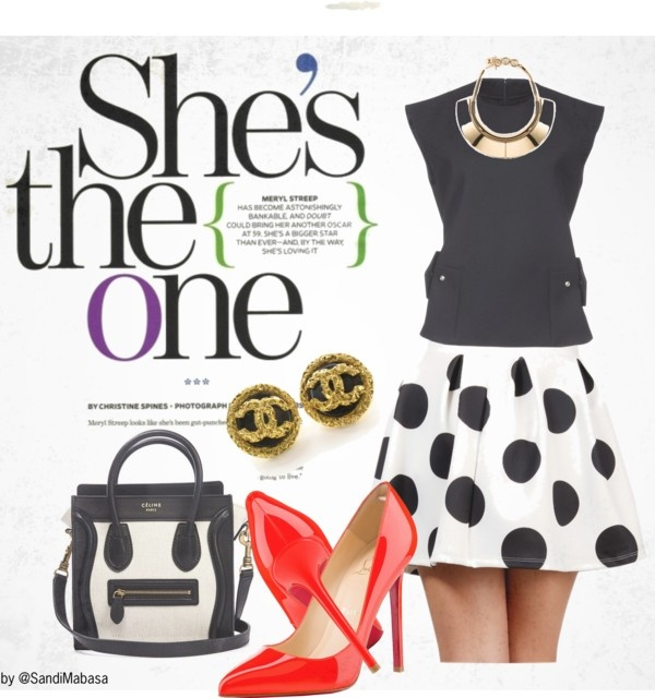 """""""We Love Polka Dots"""" by thestylehousesa on Polyvore"""