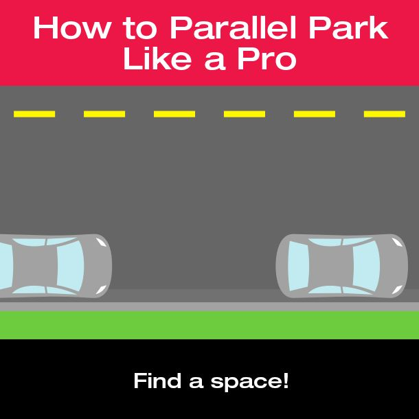 How To Parallel Park Like A Pro Gif Parallel Parking Drive