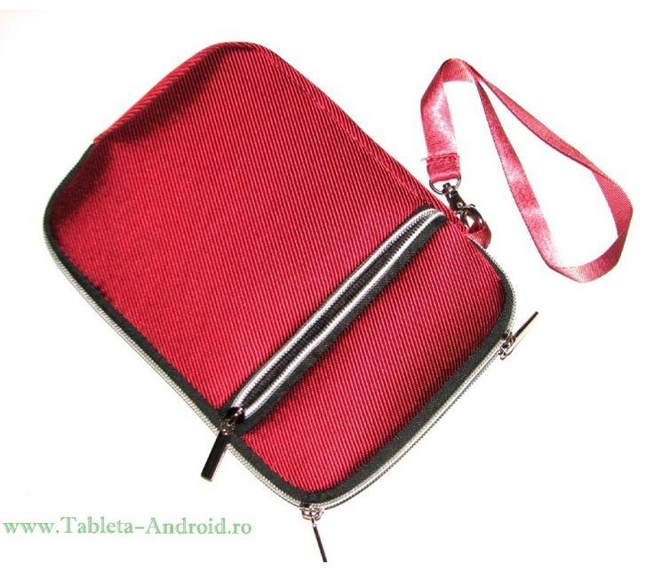 Husa tableta 7 inch Universala - https://www.tableta-android.ro/huse-tablete-universale/p-husa-7-inch-pentru-tableta-pc-tip-borseta-culoare-visinie.html  #Accesorii #tablete #huse #folii #universala