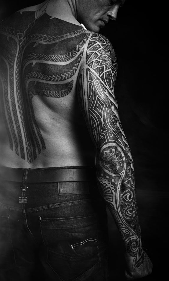 Tattoos by Peter Walrus | Meatshop Tattoo Copenhagen #maori #tattoo #tattoos