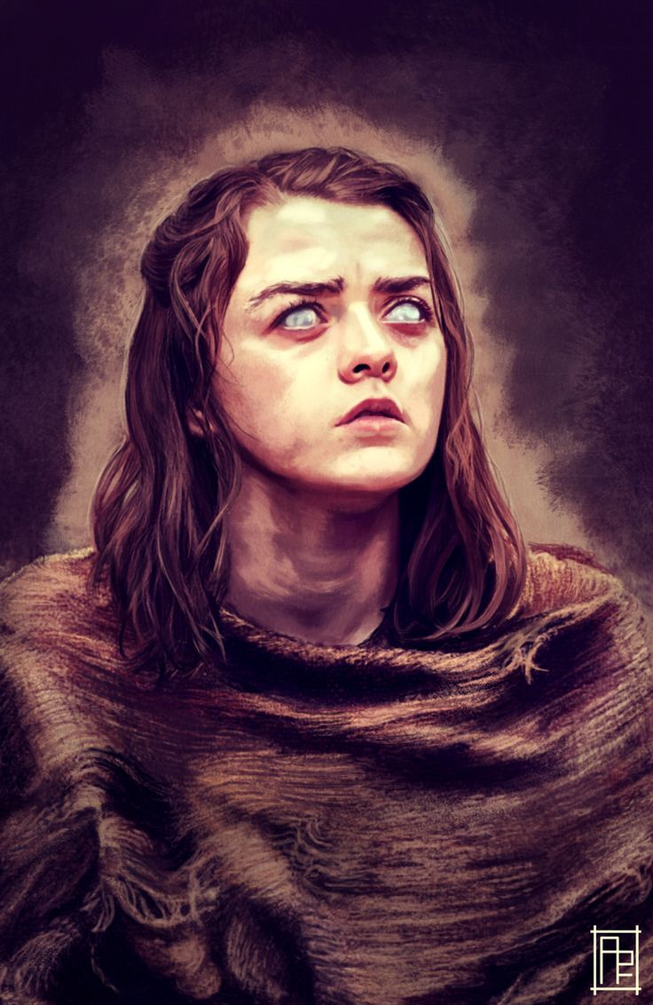 No one/ Arya Stark by Mischievous4you