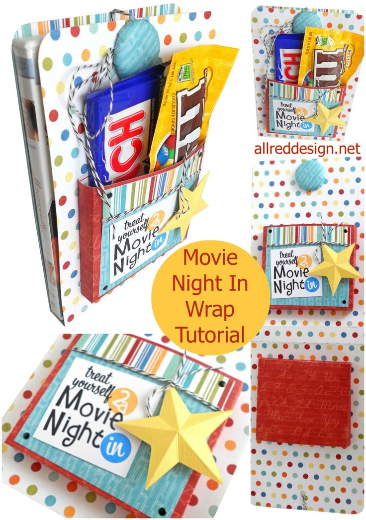 Great Ice-Breaker for a Teen! Creative Gift Wrap Idea: Movie Night DVD Wrap Tutorial