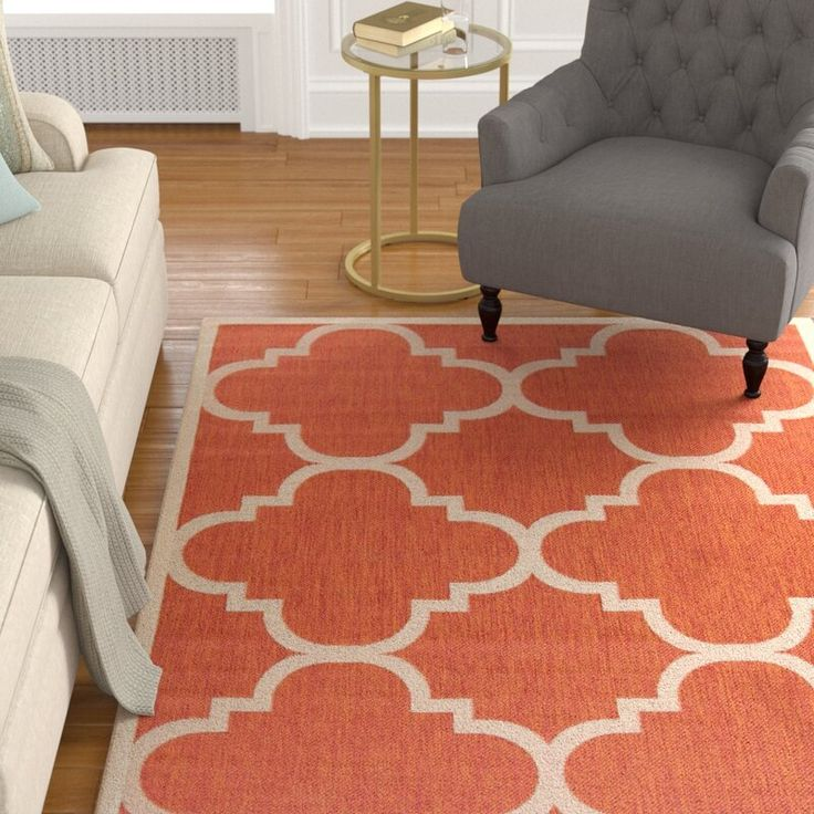 Birch Lane Heritage Antonio Geometric Terracotta Indoor Outdoor Area Rug Reviews Wayfair In 2020 Area Rugs Indoor Outdoor Area Rugs Outdoor Area Rugs