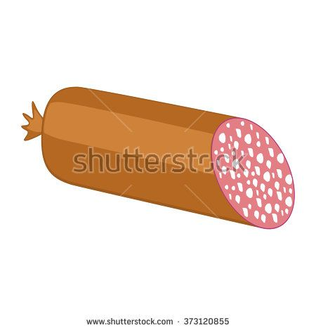 Sausage. - stock vector