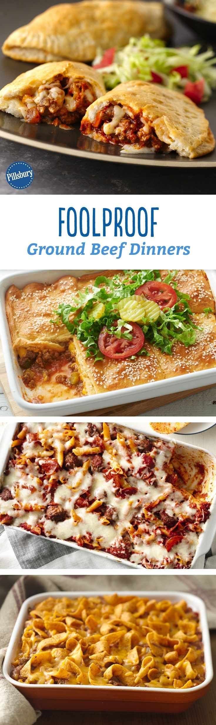 We've stamped our seal of approval on these 12 ground beef dinners! The criteria? They have to be fast, family-friendly and ones you'll want to make again and again.
