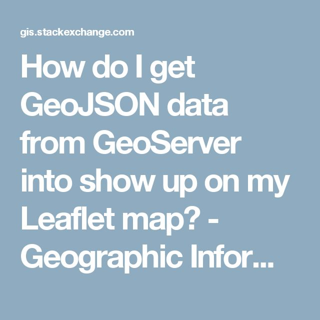 how to get gis data
