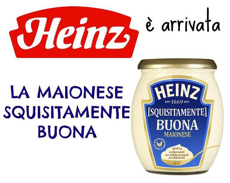 Maionese Heinz, nuova ricetta e tanto gusto!
