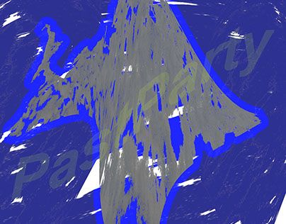 """Check out new work on my @Behance portfolio: """"195 파란 그림자 귀신/Blue shadow demon"""" http://be.net/gallery/35946749/195-Blue-shadow-demon"""
