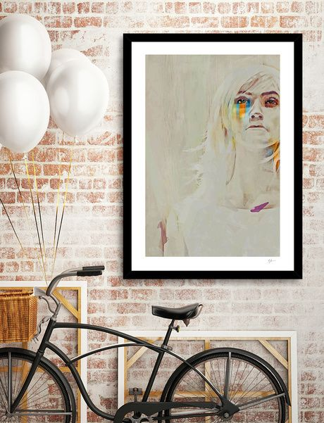 Discover «Human», Numbered Edition Fine Art Print by Galen Valle - From $20…