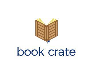 Logo Design - Book Crate