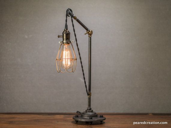 1000 id es propos de lumi re de poulie sur pinterest clairage rustique luminaires. Black Bedroom Furniture Sets. Home Design Ideas