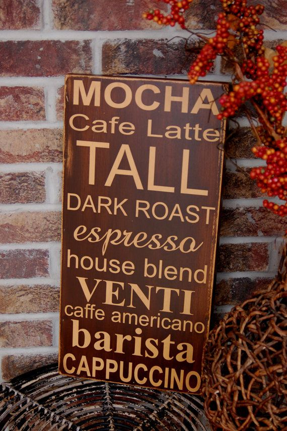 best 25 cafe kitchen decor ideas on pinterest coffee kitchen decor coffee area and cafe themed kitchen - Painted Wood Cafe Decoration