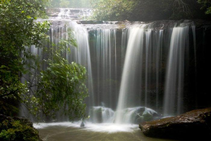 6 swimming holes in SC (3. Brasstown Falls - near Long Creek, SC)