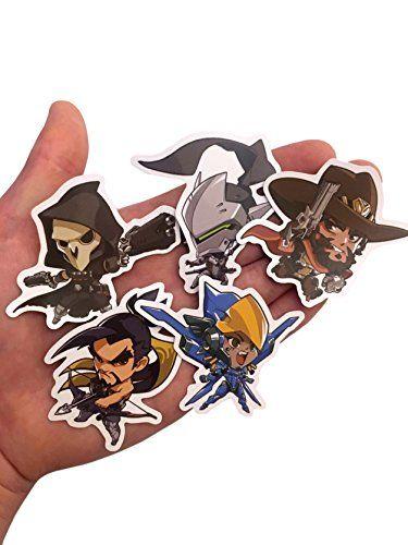 Overwatch Custom Print Die Cut Bumper Vinyl Stickers - Pack of All 25 Characters (Cute) #Overwatch #Custom #Print #Bumper #Vinyl #Stickers #Pack #Characters #(Cute)