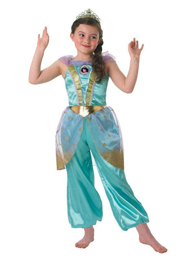 Rubies Princess Jasmin Aladin Disney Kostüm Kinder Faschingskostüm Kleid NEU