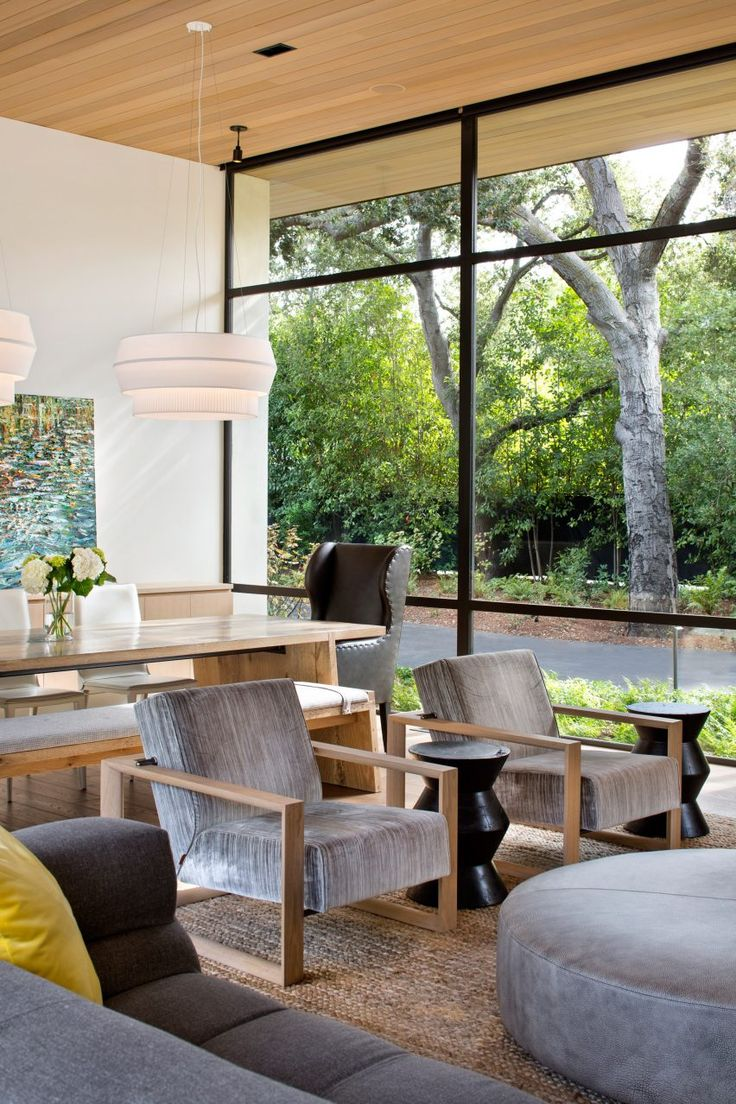 Northern California home by Arcanum Architecture sprawls along verdant lot. 189 best California images on Pinterest