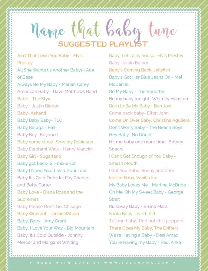 looking for songs with baby in the title click to get your free download pin it babyshower