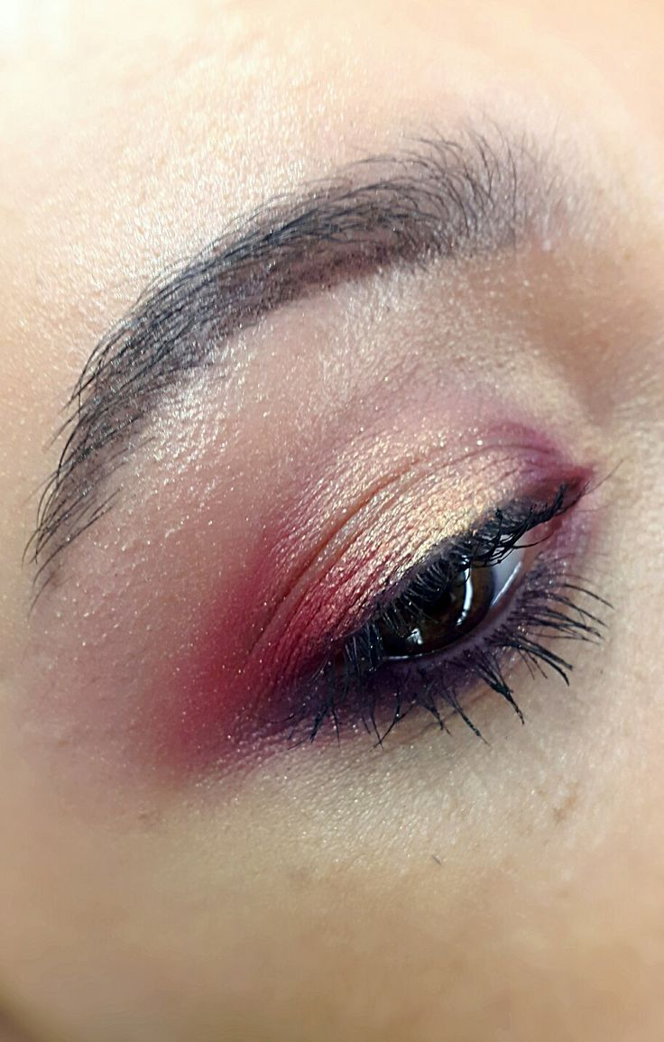 Red makeup  #maccosmetics #fruityjuicy
