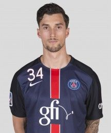 Samuel Honrubia, Fielder of Paris Saint-Germain Handball.