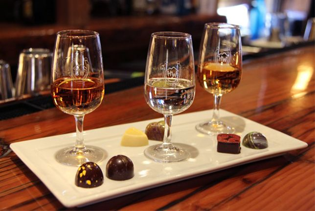 High West Distillery & Saloon - Whiskey and chocolate  pairings