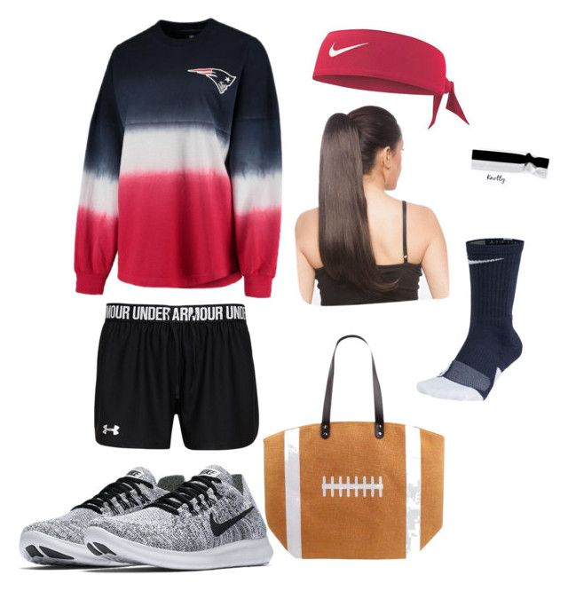 """Pats game day outfit"" by mkobe3 on Polyvore featuring Fanatics and NIKE"