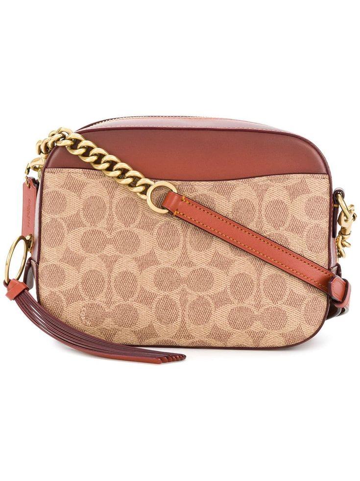 Coach logo camera crossbody bag coach crossbody purse