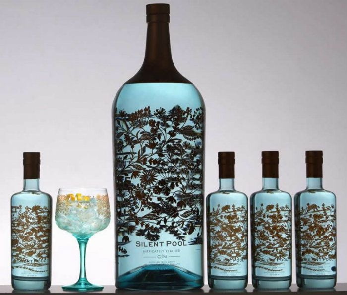 Silent Pool Distillers, a distillery based in the UK, has created what could be the largest and most expensive bottle of gin in the world.