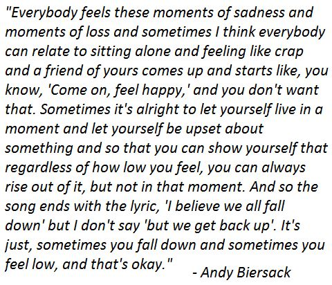 black veil brides... This is the exact reason why hes my hero... Hes so strong, and he wants us to be strong. So I will.
