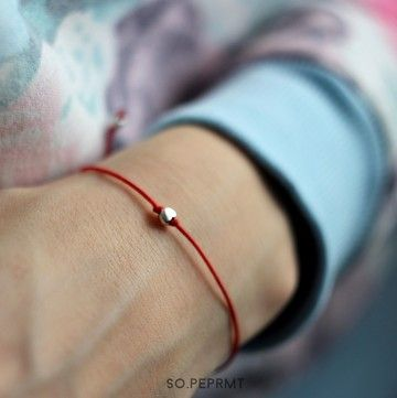 Twinkle - Tiny Heart #sopeppermint #sopeprmt #bracelet #valentines #heart