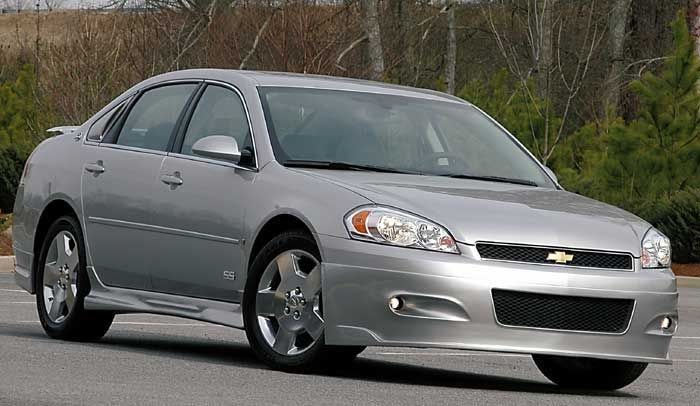 Available for all 2006-2009 Chevrolet Impala 4dr sedan models. Description from octanemotorsports.com. I searched for this on bing.com/images