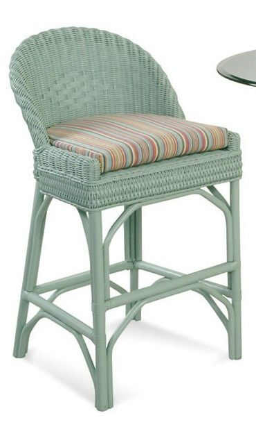 rattan bar stools with backs | Braxton Culler colored bar stool low back wicker  sc 1 st  Pinterest & The 25+ best Rattan bar stools ideas on Pinterest | Coastal ... islam-shia.org