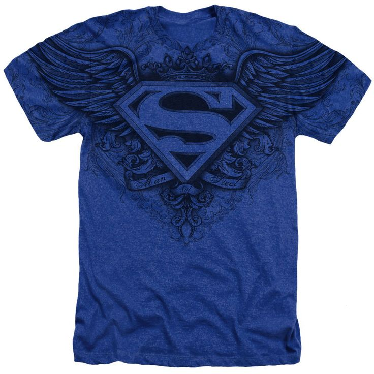Project Shirt - Men's Superman T-Shirt with Winged Logo, $29.00 (http://www.projectshirt.com/superman-t-shirt-with-winged-logo/)