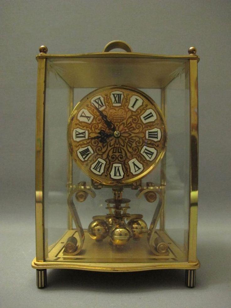 Vtg Kundo 400 Day Clock Kieninger Amp Obergfell Made In