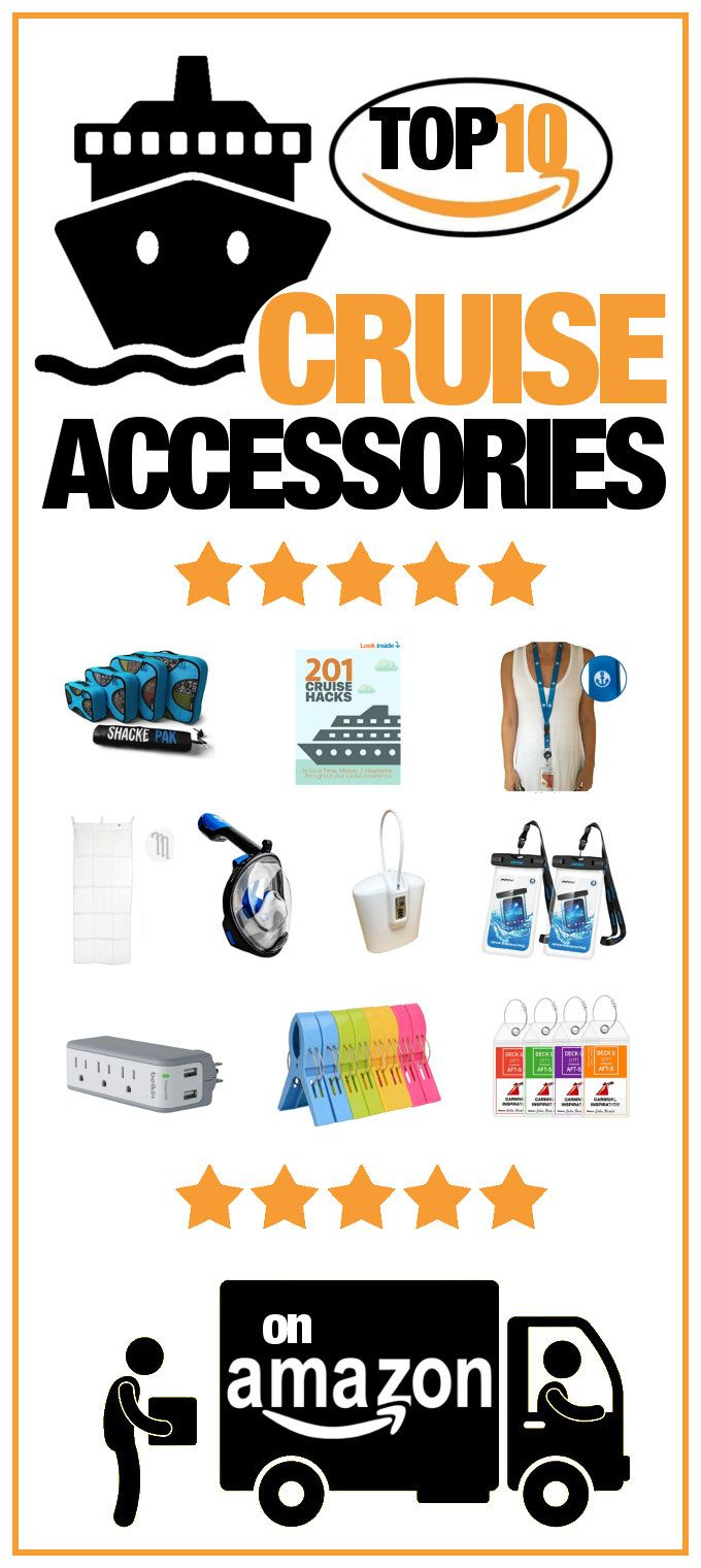 Most Purchased Cruise Accessories on Amazon. Check out the most popular and highest rated products cruisers are buying.